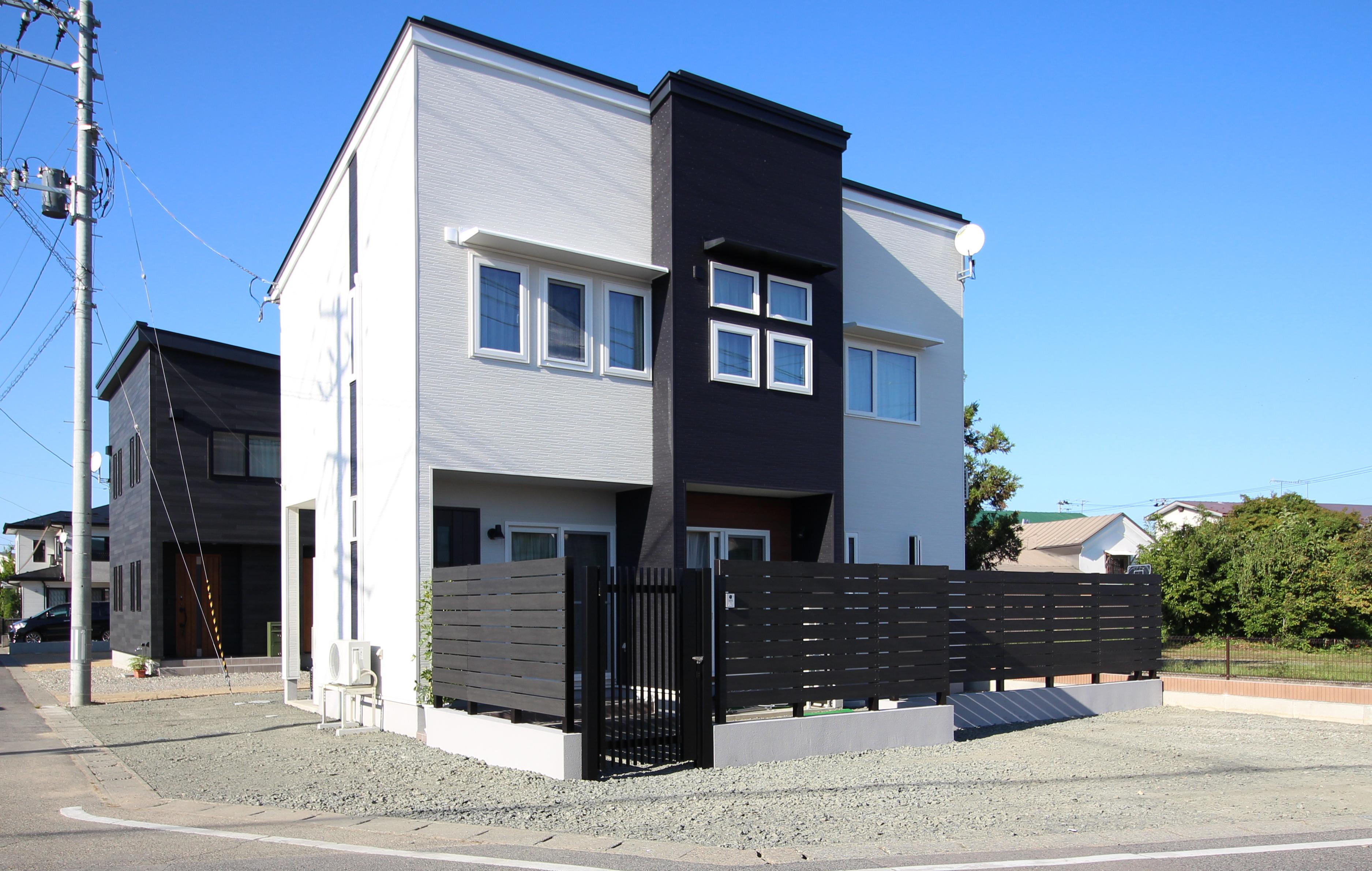 家事楽でシンプルなデザイン住宅