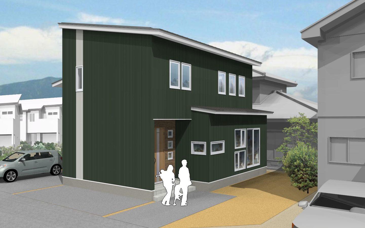 インナーガレージのあるZEH住宅完成見学会